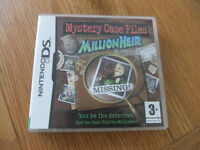 Nintendo DS Mystery Case Files Game