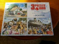 Brand new in cellophane puzzles