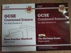 Brand new science revision books