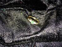 Royal emerald engagement ring
