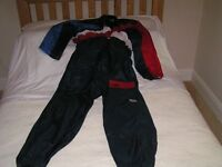 Motor-cyclists SCHUH Waterproof oversuit. Size L
