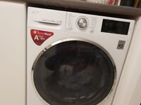 LG FH4U2VCN2 Washing Machine - White - 9KG