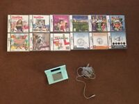 NINTENDO DS with 12 Games and charger