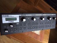 Moog Slim Phatty Little 3u rack real analogue mono synth and filter