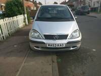 Mercedes A class 1.4 petrol and low mileage