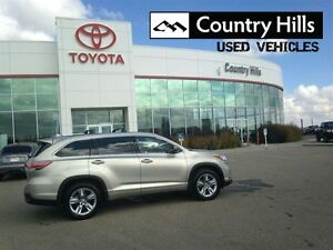 2014 Toyota Highlander AWD LIMITED Clean Car Proof
