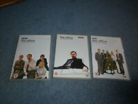 DVDs - THE OFFICE - THE COMPLETE FIRT SERIES/SECOND SERIES/CHRISTMAS SERIES