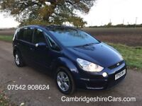 2009 FORD S MAX 2.0 TDCI ZETEC - AUTOMATIC - DIESEL- 7 SEATER - 1 OWNER