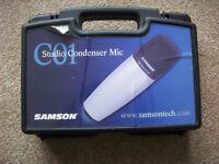 Samson CO1 Studio condensing microphone