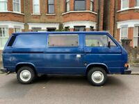 Campervan for Repair / Project, VW T25 / T3 , TRANSPORTER 78PS, 1989, 1915 (cc)