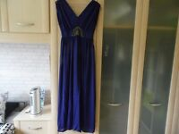 PARTY WEDDING FORMAL GREEK STYLE MAXI DRESS SIZE 12 *POSTAGE AVAILABLE*