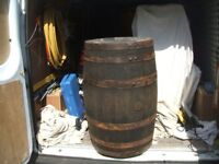 scottish whiskey barrell