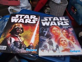 STAR WARS ANNUALS IN LIKE NEW CONDITION 2005+2007 £5 EACH