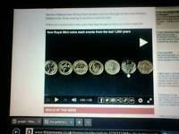 Beatrix Potter 2016 50p coin ,