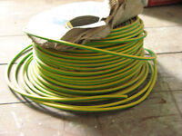 Earth Cable 10.00mm nearly 80m left on roll