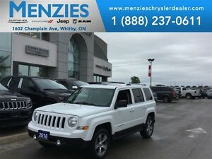 2016 Jeep Patriot North, Bluetooth, Sunroof, Clean Carproof