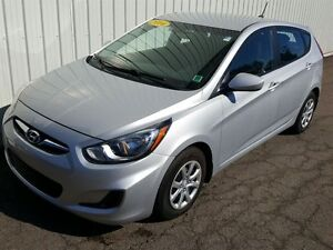 2014 Hyundai Accent GL HATCHBACK/FACT WARR/AUTO/HEATED SEATS/BLU