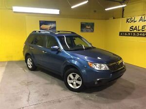 2009 Subaru Forester 2.5 ~ AWD ~ FOG LIGHTS ~ PANORAMIC ROOF ~ A