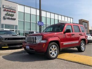 2008 Jeep Liberty Limited-LOW KM'S/ACCIDENT FREE!!!