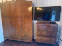 Vintage Wooden Bedroom Furniture.