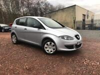 SEAT ALTEA 1.6 PETROL- LOW MIL. 38K- FULL SERVICE HISTORY-COMES WITH FULL YEAR MOT+6 MONTHS WARRANTY