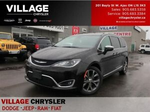 2017 Chrysler Pacifica Limited Platinum,DVD,Advanced Safety,Pano
