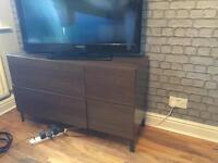 Tv cabinet / chest of drawers/sideboard dark brown SOLD!!!