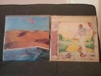 Elton John album & Wishbone ash album on vinyl