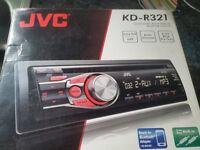 JVC KD-R321 MP3 Car CD Receiver