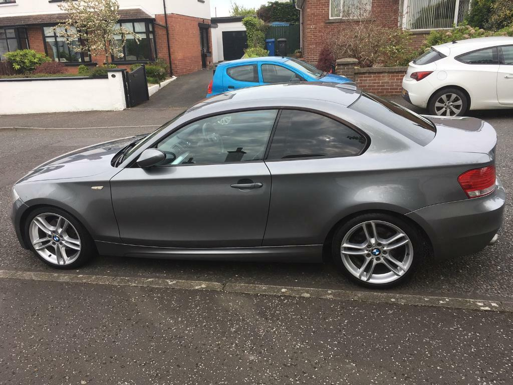 bmw 120d m sport coupe space grey 2009 in bangor county down gumtree. Black Bedroom Furniture Sets. Home Design Ideas
