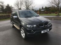 BMW X5 3.0 Diesel 2006 Sport in black, excellent machine with Warranty