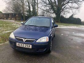 2003 Vauxhall Corsa 1.2l