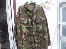 ARMY FATIGUES JACKET AND TROUSERS AS NEW
