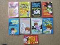 13 x Horrid Henry Book Bundle - Francesca Simon – A Handful of, A Giant Slice of, A helping of etc