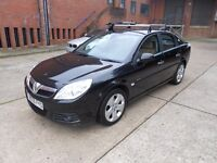 2007 vauxhall vectra 2.2 direct elite leather black metallic navigation cheapest on sale hpi clear