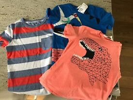Boys 3 pack t-shirts H&M new with tags size 6-7