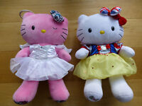 Hello Kitty's x 2 with Accessories (Build A Bear)