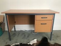 Office DESK wood effect USED but good condition