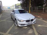 BMW 3 Series 330d Xdrive Luxury (white) 2014