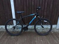 Mens Hardtail Front Suspension Lightweight Mountain Bike in MINT Condition