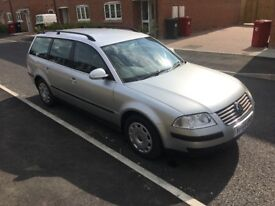 VW PASSAT ESTATE 1.9 TDI 2004 1 LADY OWNER £750