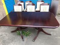 STUNNING VINTAGE TABLE AND CHAIRS