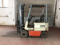 Nissan Electric fork lift