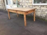 Gorgeous Farmhouse table (delivery available)