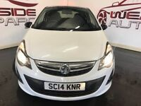 VAUXHALL CORSA 1.2 i 16v Limited Edition 3dr (a/c) (white) 2014
