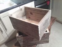 WOODEN CRATES FRUIT BOX STYLE