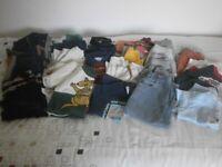 Large quantity of boys clothes (6 - 18 months)