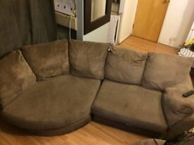 Sofa for sale £30 need picking up Wednesday afternoon Loughton