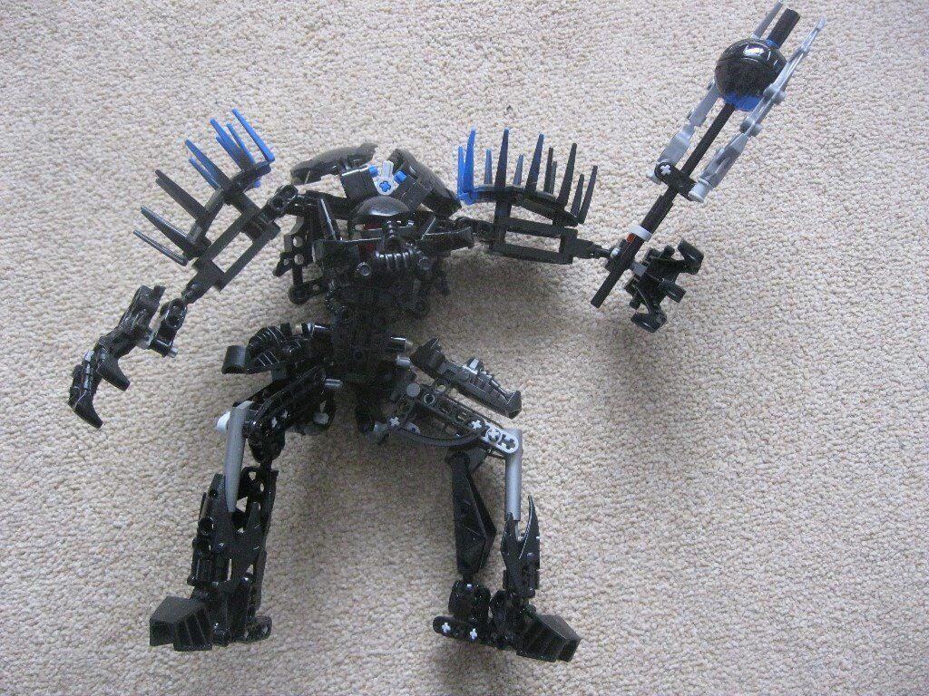 Details about  LEGO HERO FACTORY VON NEBULA VILLAINS 7145 USED