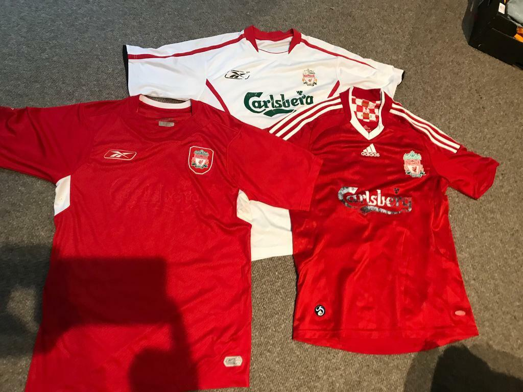 new style 67b85 21041 Liverpool shirts old school   in Ely, Cardiff   Gumtree